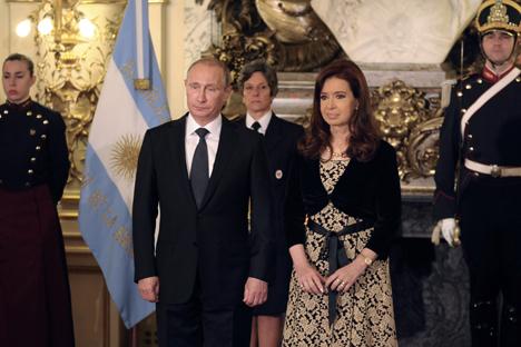 Nos últimos anos, a balança comercial entre os dois países tem sido favorável para a Argentina Foto: AFP/East News