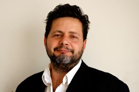 Conversación con el argentino Sebastián Guerrini, doctor en diseño en comunicación visual y experto en marketing. Fuente: archivo personal