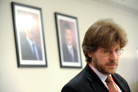 Entrevista a Fiódor Lukiánov, director de Consejo de Política Exterior y de Defensa. Fuente: Serguéi Piatiakov / Ria Novosti