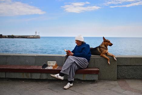 Alternativas limitadas de transporte não impediram aumento do fluxo de turistas Foto: RIA Nóvosti