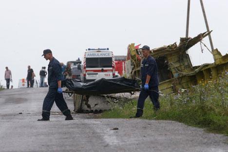 Los medios de comunicación europeos y estadounidenses acusan a Rusia de su implicación en la catástrofe. Fuente: Reuters