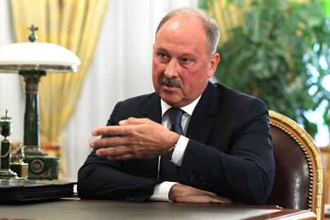 Vladímir Dmitriev, presidente do VneshekonombankFoto: ITAR-TASS