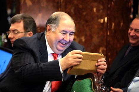 Alisher Usmanov, o homem mais rico da Rússia Foto: Reuters