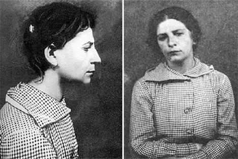 Según la versión oficial la persona que atentó contra el líder de la revolución en agosto de 1918 fue la resentida y fanática eserista Fanni Yefimovna Kaplán. Fuente: archivo