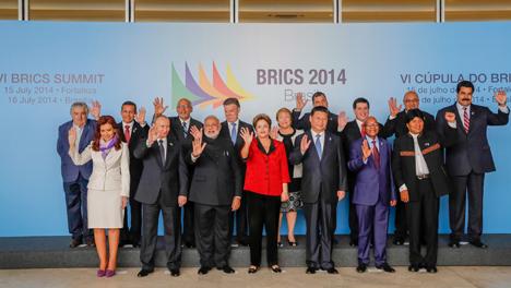 Teilnehmer des BRICS-Gipfels in Brasilien. Foto: Pressebild