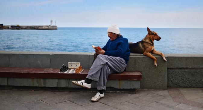 La vida cotidiana tres meses después de integrarse a Rusia. Fuente: Ria Novosti