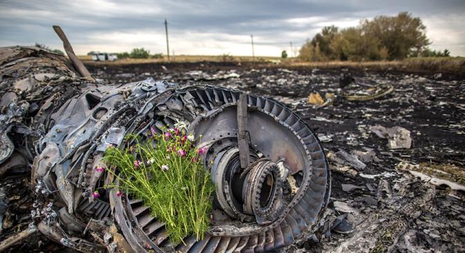 A tragédia do avião malaio na Ucrânia não interrompeu os combates entre ucranianos e separatistas no leste do país Foto: Andrêi Sténin/RIA Nóvosti