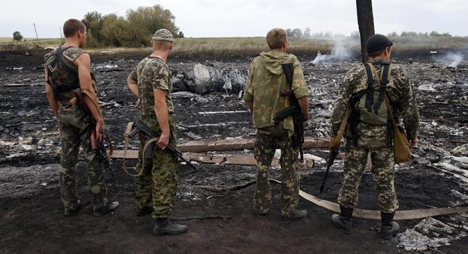 El escenario donde tuvo lugar el siniestro del avión. Fuente: Reuters.