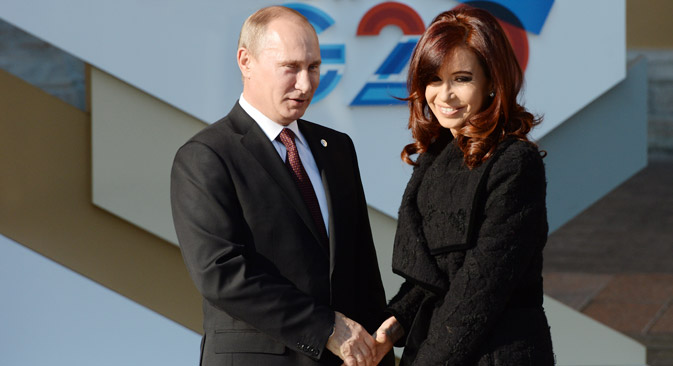 Vladímir Putin visitará Cuba, Argentina y Brasil. Fuente: Ramil Sítdikov / Ria Novosti