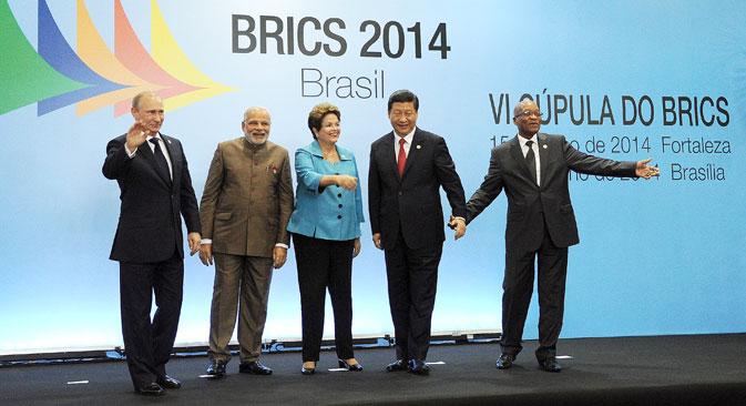 Se crea el Nuevo Banco de Desarrollo de los BRICS. Fuente: ITAR-TASS