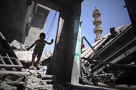 Los que más han sufrido en la guerra de turno en Oriente Próximo no han sido los soldados sino los civiles. Fuente: AP