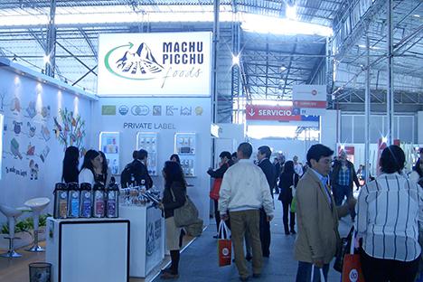 Se celebra el Lima la Feria Internacional Expoalimentaria, con el objetivo de explorar las nuevas oportunidades de venta tras el veto alimentario a los países occidentales. Fuente: Ricardo Zedano