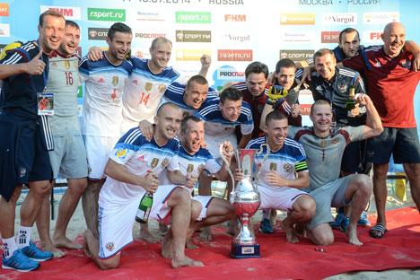 El resultado fue 3-4 en el partido disputado en Torredembarra (Tarragona). Fuente: Vladímir Astapkovich / Ria Novosti