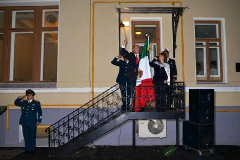 Rubén Beltrán, embajador de México en Rusia. Fuente: servicio de prensa