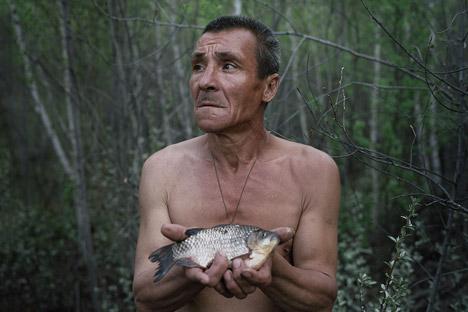 "La serie ""Escape"" retrata a eremitas que viven Rusia y Ucrania. Fuente: Danila Tkachenko"