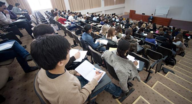 Las plazas gratuitas para extranjeros aumentarán en un 50%. Fuente: ITAR-TASS