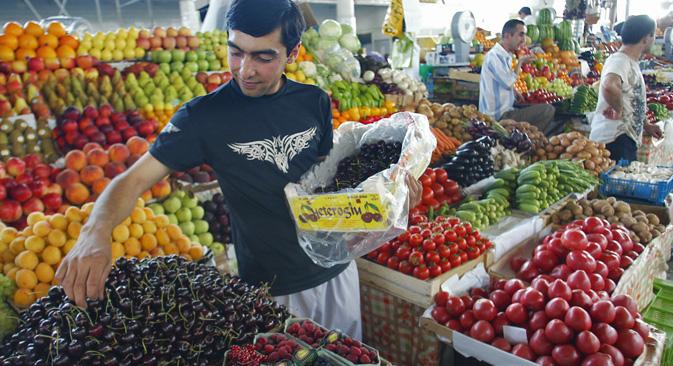 El gobierno ruso ha dado a conocer el listado de los productos alimentarios que se verán afectados. Fuente: ITAR-TASS.