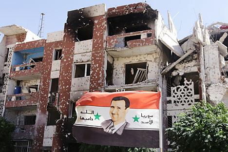 El derrocamiento del régimen sirio pondrá trabas a la mejora de las relaciones entre EE UU e Irán. Fuente: AFP / East News