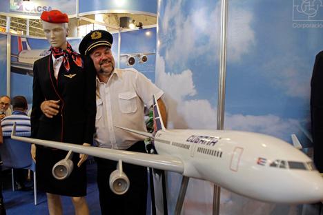 Actualmente la aerolínea Cubana de Aviación es el único operador comercial del modelo Il-96-300. Fuente: AP