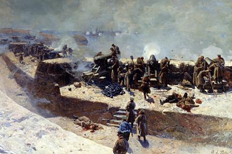 A principios de 1854 desembarcaron en la península tropas francesas, inglesas y turcas. Fuente: vostock-photo