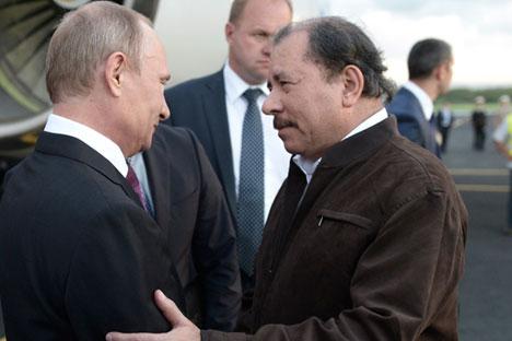Vladímir Putin visitó el país centroamericano el pasado julio y este mes se debaten en Moscú posibles vías de acercamiento mutuo. Fuente: Reuters
