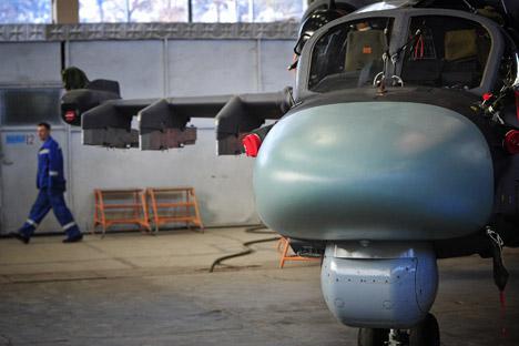 A criação de simuladores de voo não é uma orientação nova para os fabricantes russos de aeronaves Foto: ITAR-TASS