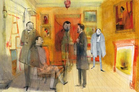 Dibujado por Jorge González