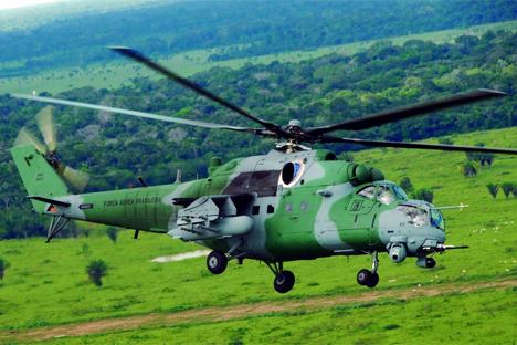 Mi-35. Fuente: russianhelicopters.aero