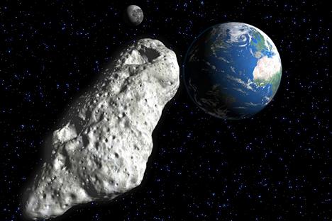 La John Hopkins University y el Instituto de Investigación Espacial Ruso proponen soluciones diferentes para salvar el planeta. Fuente: AFP/East News