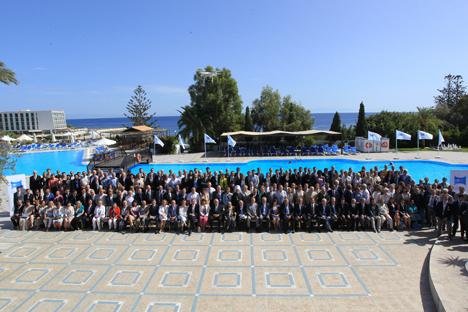 La isla griega de Rodas acogió la decimosegunda edición de Foro Público Mundial. Fuente: servicio de prensa