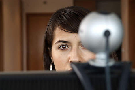 5% dos cidadãos russos acreditam estarem sendo vigiados no ambiente virtual Foto: Alamy/Legion Media