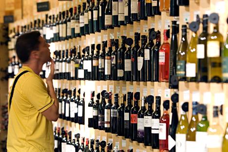 Los vinos españoles son los terceros con mayor cuota de mercado en Rusia. Fuente: Legion Media.