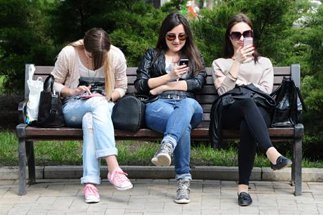 La dependencia a los ordenadores no está reconocida oficialmente como enfermedad, pero son cada vez más los que la sufren. Fuente: Natalia Seliverstova / Ria Novosti
