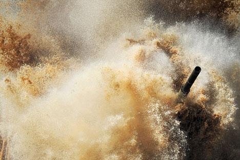 El tanque estará preparado para las duras condiciones climáticas de la región ártica. Fuente: RIA Novosti.