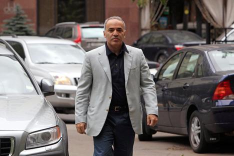 Gari Kaspárov, el excampeón de ajedrez y miembro de la oposición considera al presidente ruso como el hombre más peligroso del mundo. Fuente: Reuters