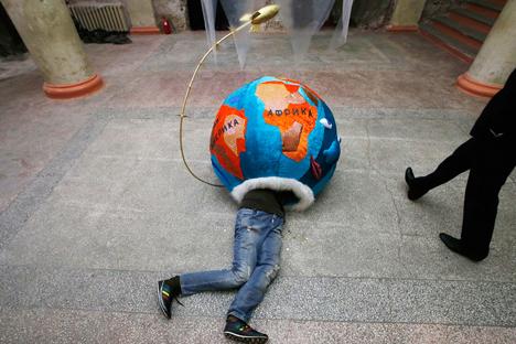 La bienal de arte europea Manifesta 10 celebrad en San Petersburgo no ha estado exenta de polémica. Fuente: Reuters