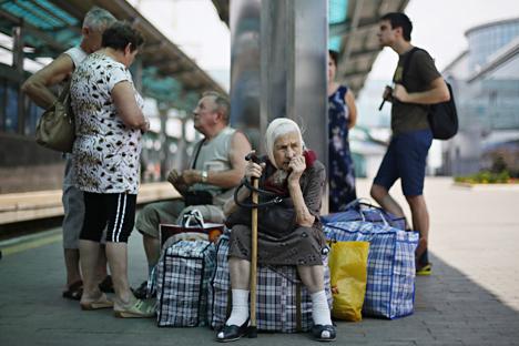 La ONU ha confirmado que más de un millón de personas se han desplazado a Rusia desde Ucrania. Fuente: TASS.
