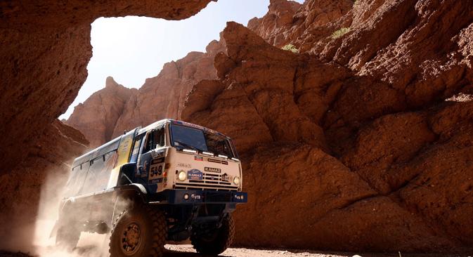 Los camiones rusos se utilizan Argentina, Colombia y Venezuela. Fuente: AFP / East News
