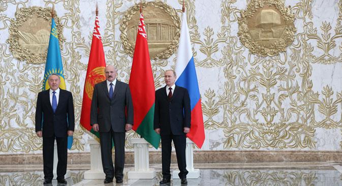 El proyecto de integración incluye a Rusia, Kazajistán y Bielorrusia. Fuente: PhotoXpress