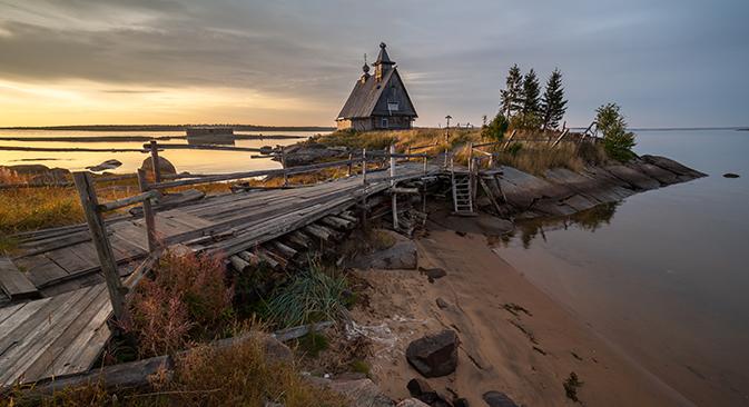 A Carélia, república do norte da Rússia, é uma alma gêmea da Escandinávia, com a qual ela está unida pela beleza de suas paisagens e pela antiga herança rúnica Foto: Lori / Legion Media