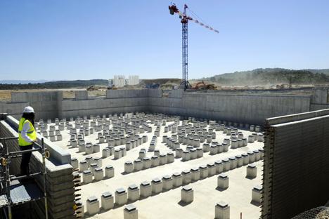 El ITER es un reactor termonuclear experimental que cuenta con la participación de Rusia, la UE, India, China y EE UU. Fuente: AFP / East News