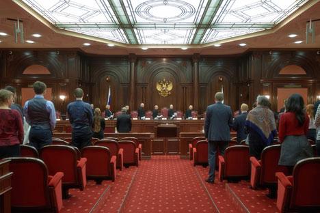 Según el Tribunal Constitucional las circunstancias de la muerte de ciudadanos rusos no pueden ser información clasificada. Fuente: Ria Novosti / Alekséi Dánichev
