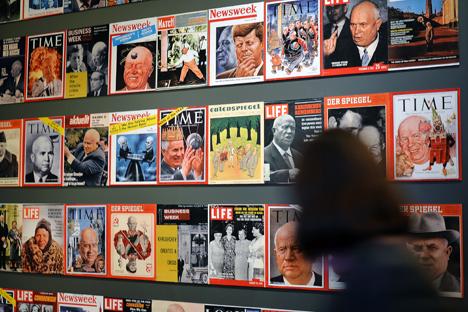 Con motivo del 120º aniversario del nacimiento del mandatario soviético una exposición en Moscú muestra documentos secretos. Fuente: Ria Novosti / Vladímir Presnya