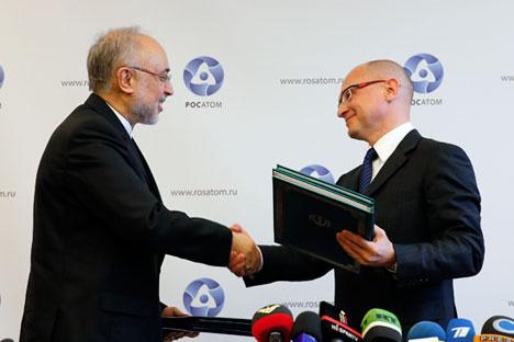 El proyecto conjunto entre Moscú y Teherán, cumple con las garantías de la ley internacional y supone un acercamiento entre la comunidad internacional y el país persa . Fuente: Reuters