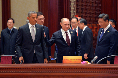 Encontros paralelos evidenciaram estreitamento de laços de cooperação entre Moscou e Pequim Foto: Reuters