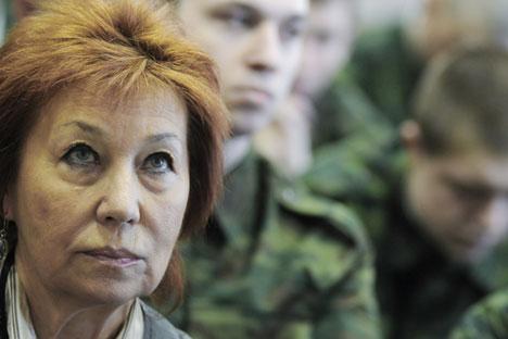 Activistas por la defensa de los derechos humanos reclaman al Ministerio de Defensa que explique si la situación está relacionada con Ucrania. Fuente: Serguéi Yermojin / TASS