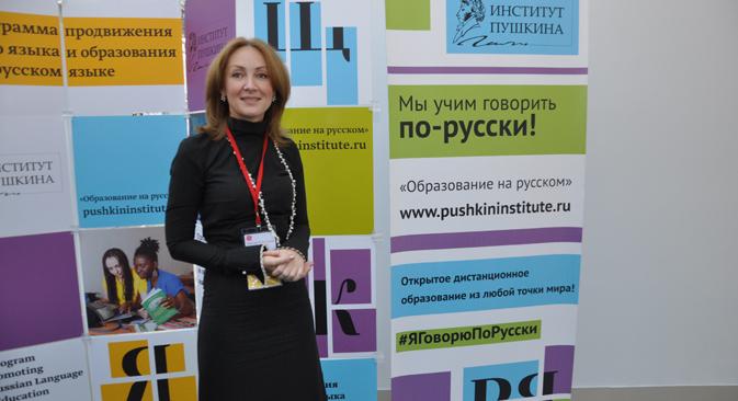 Margarita Rusetskaia. Fuente: Gleb Fiódorov