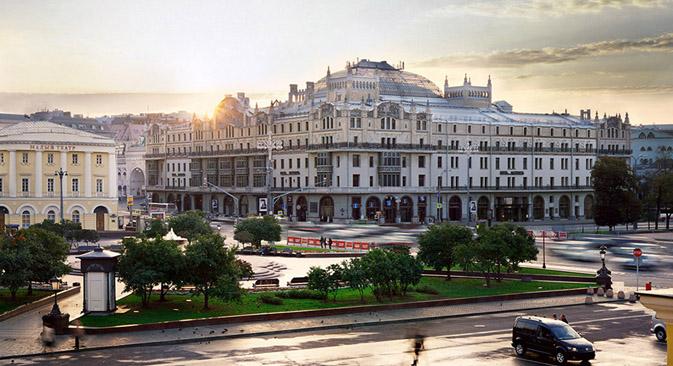 Descubre el edificio modernista del centro Moscú. Fuente: servicio de prensa