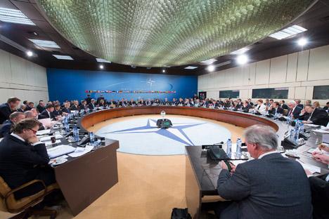 Apesar de criticar a Rússia, a Otan, no dizer do secretário-geral da organização, Jens Stoltenberg, não quer relançar a Guerra Fria Foto: serviço de imprensa