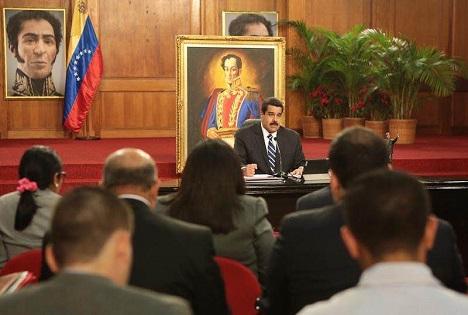 El presidente de venezuela, Nicolás Maduro. Fuente: Ministerio de Comunicación e Información de Venezuela.